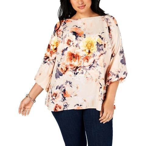 Charter Club Floral Top