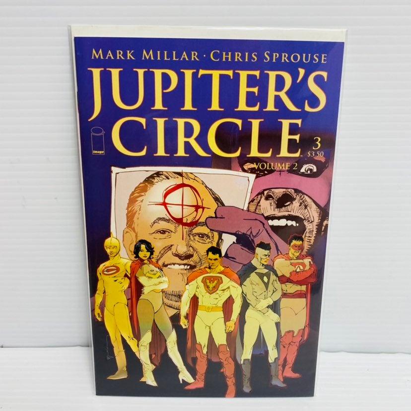 Jupiter's Circle Vol 2 #3A (Jan 2016, Im
