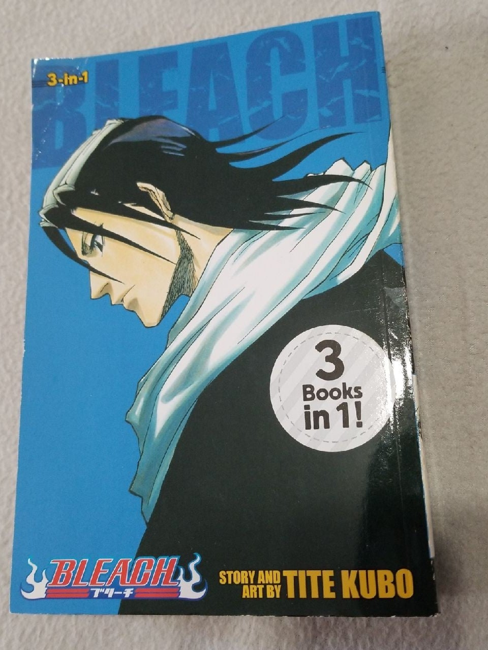 Bleach manga vol. 7-8-9