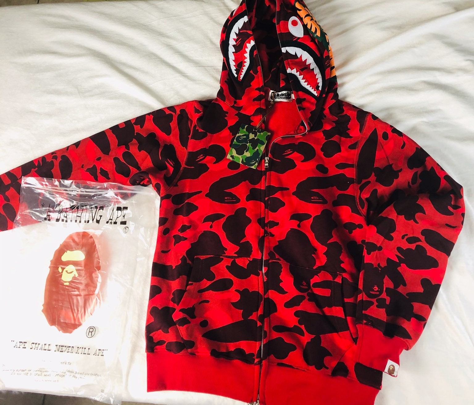 bape hoodie for men.