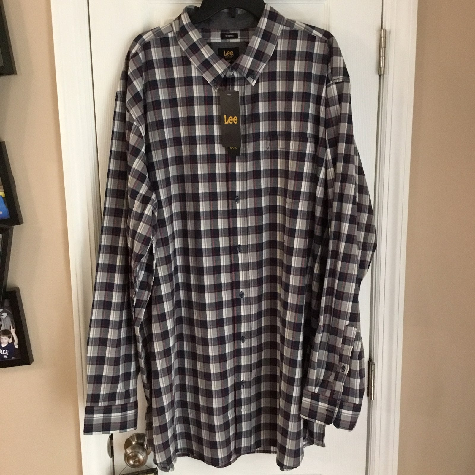 NEW LEE PLUS SIZE BUTTON UP SHIRT 55%OFF