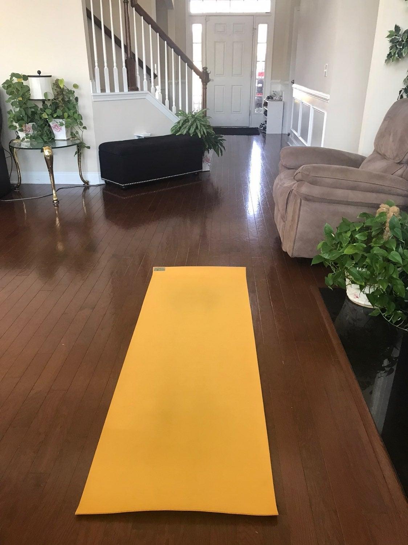 Jade Harmony Yoga Mat, Saffron Yellow