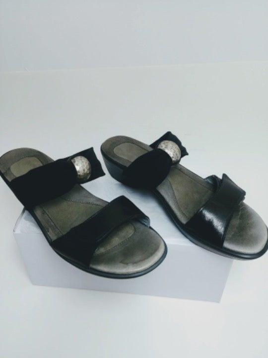 Black NAOT Sandals Stretch embellished