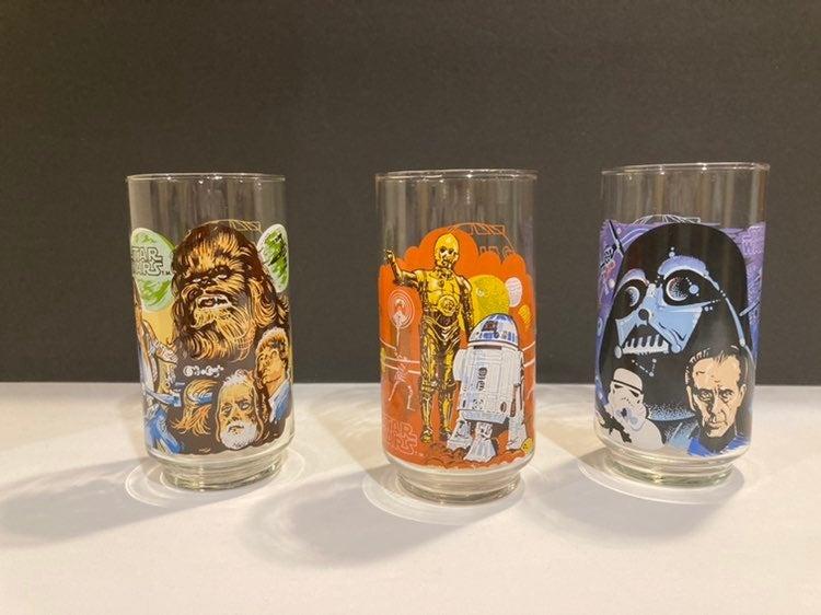 Vintage Star Wars Glasses - 1977
