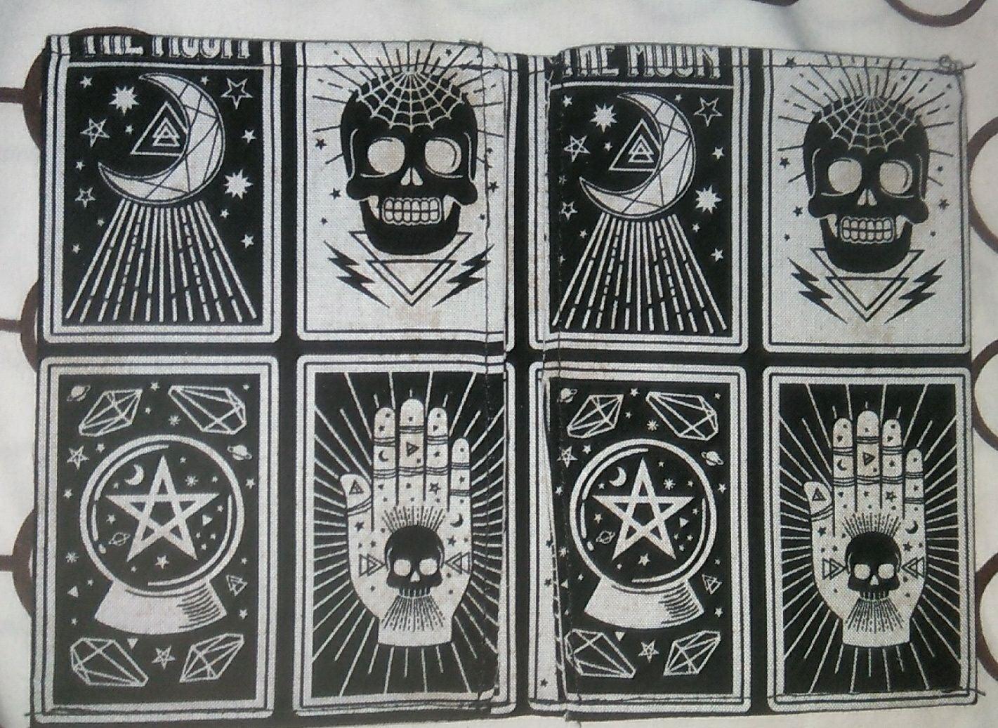 Handmade Skull fabric Wallets
