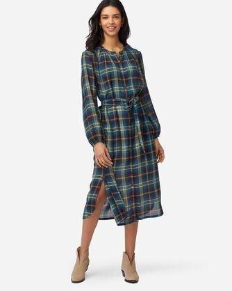 NEW Woman's Pendleton Plaid Dress Sz L