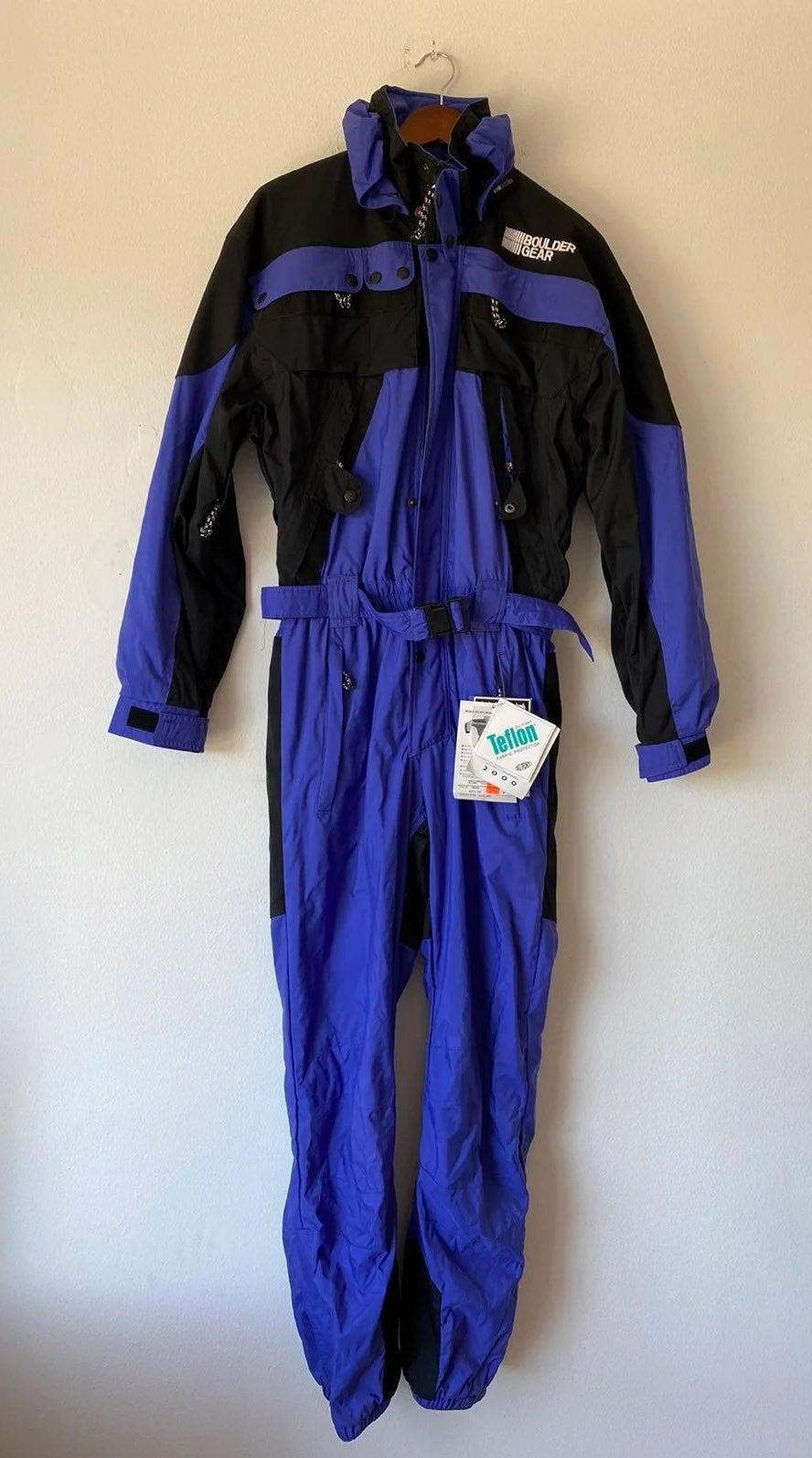 Vintage 90s Boulder Gear Lite Ski Suit