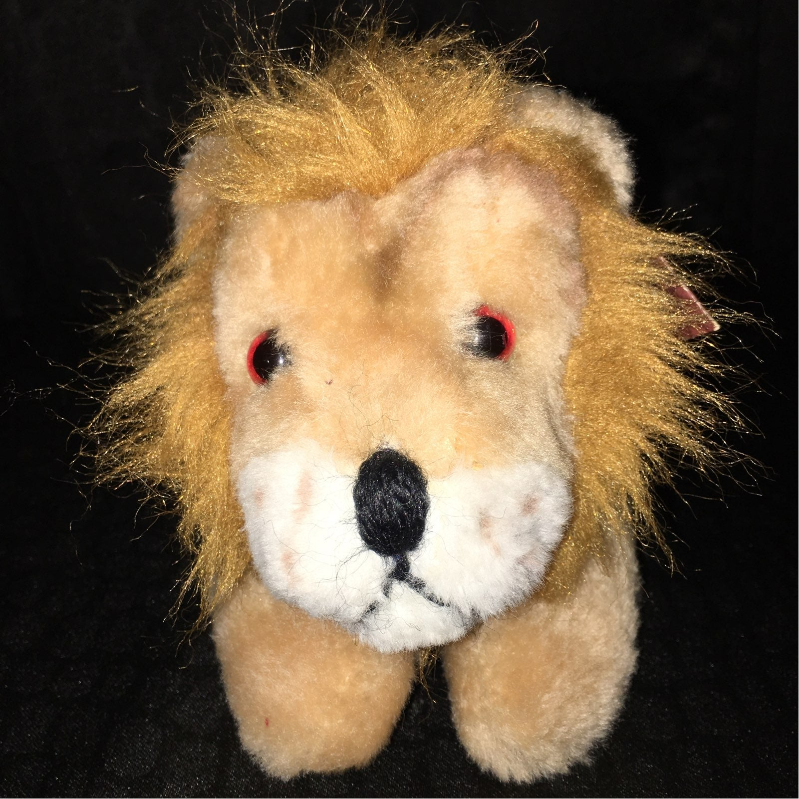 New 1979 Russ Luv-Pets Lion w / Tag