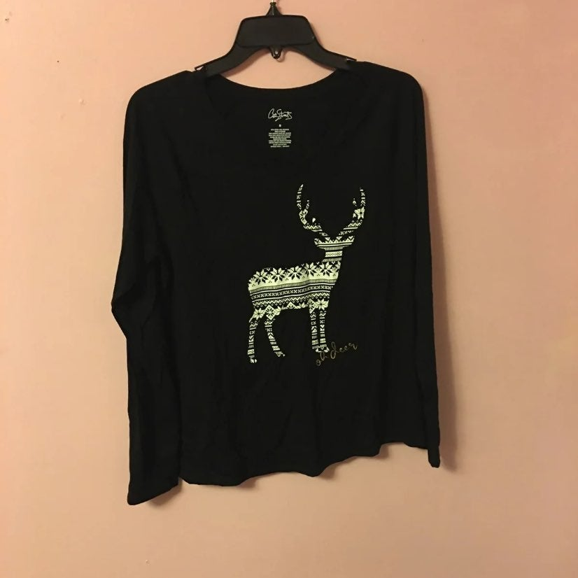 Jcpenny City streats Deer long sleeve to