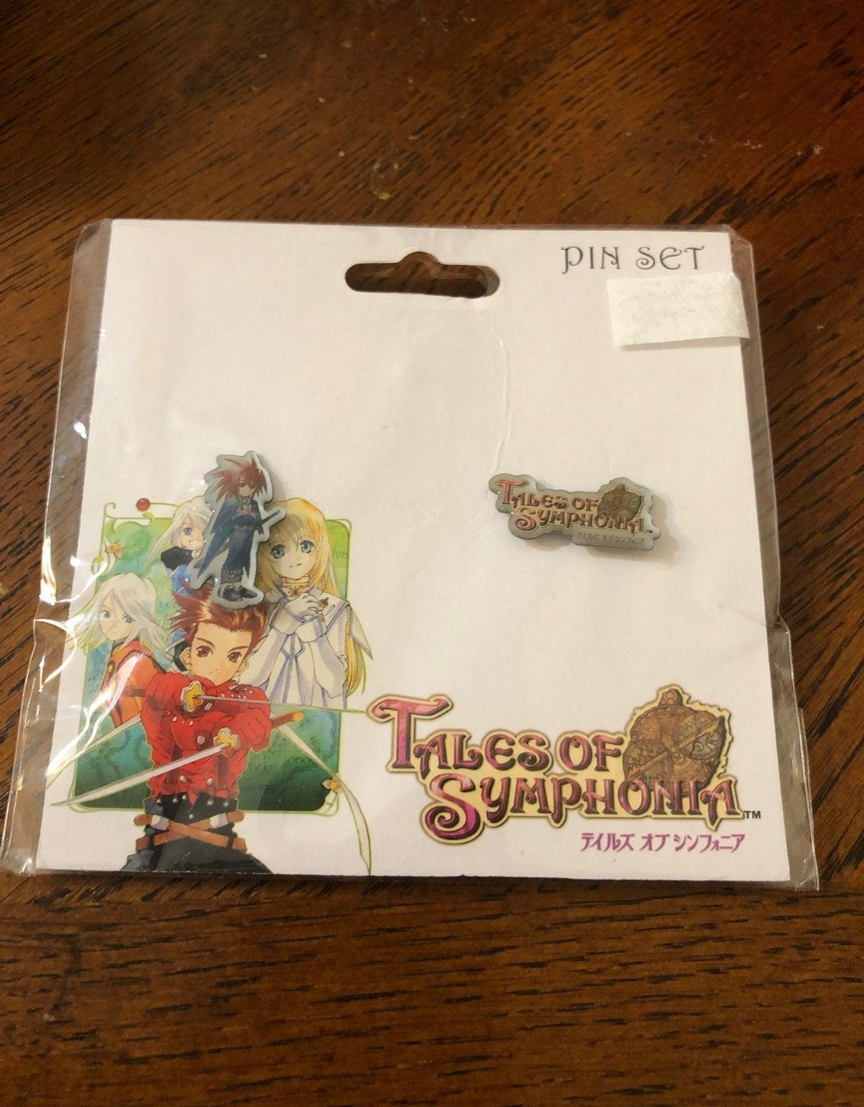 Tales of Symphonia Pin Set