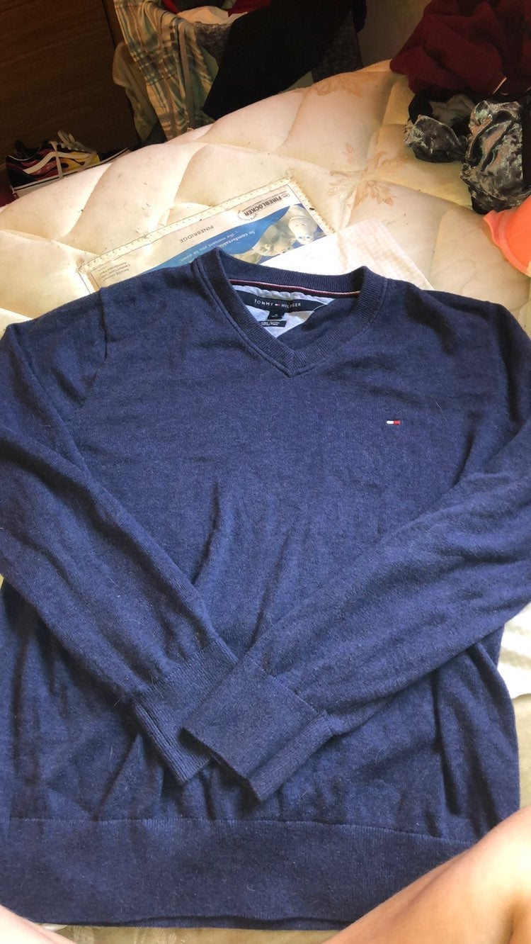 Mens tommy hilfiger sweater