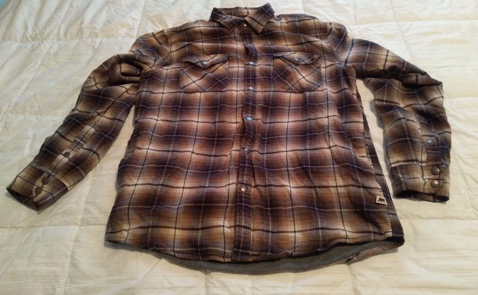 Dakota Grizzly Mens Shirt Large