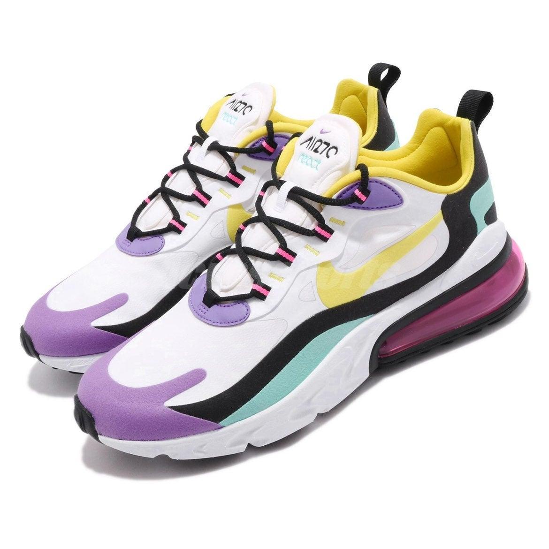 Nike Air Max 270 react bright violet