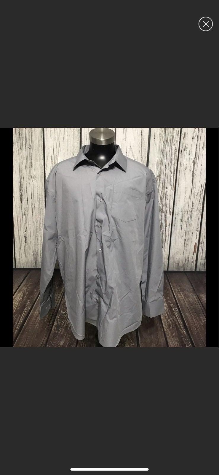Berlioni Mens Shirt Grey Color 3XL