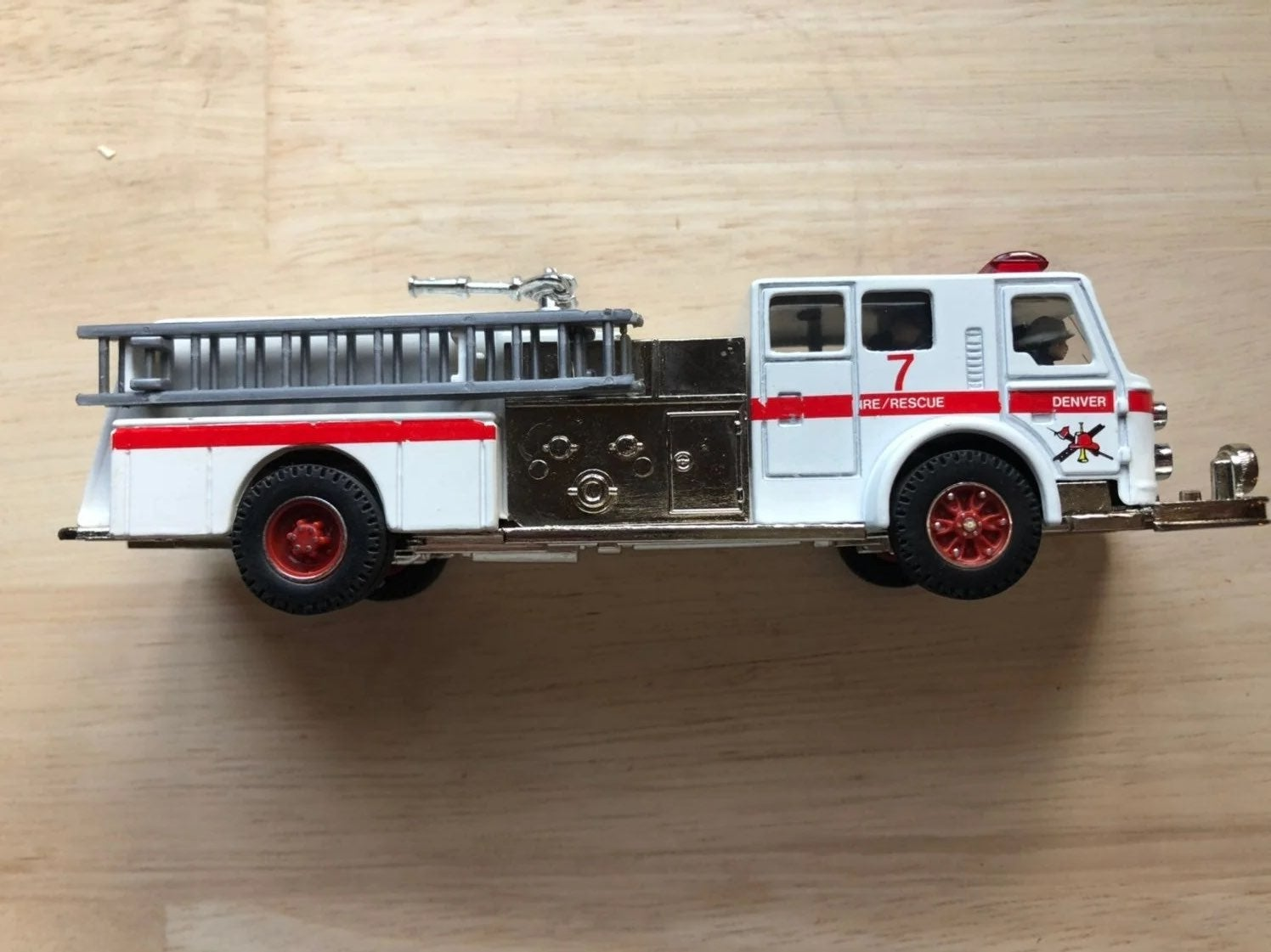 Diecast model replica fire truck Denver