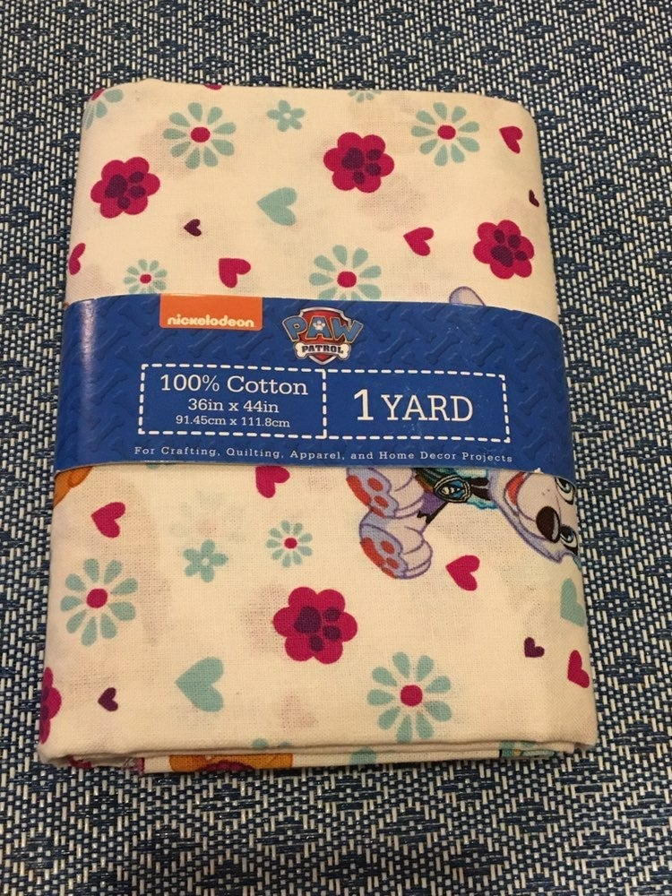 Paw Patrol Everest and Skye Fabric 1 Yrd