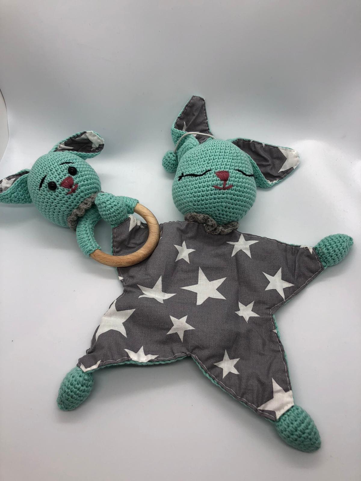 Sleepmate toy&teething rattle