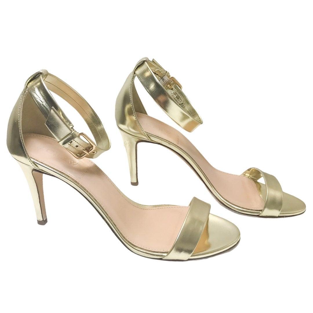 J. Crew Gold Metallic Sandal