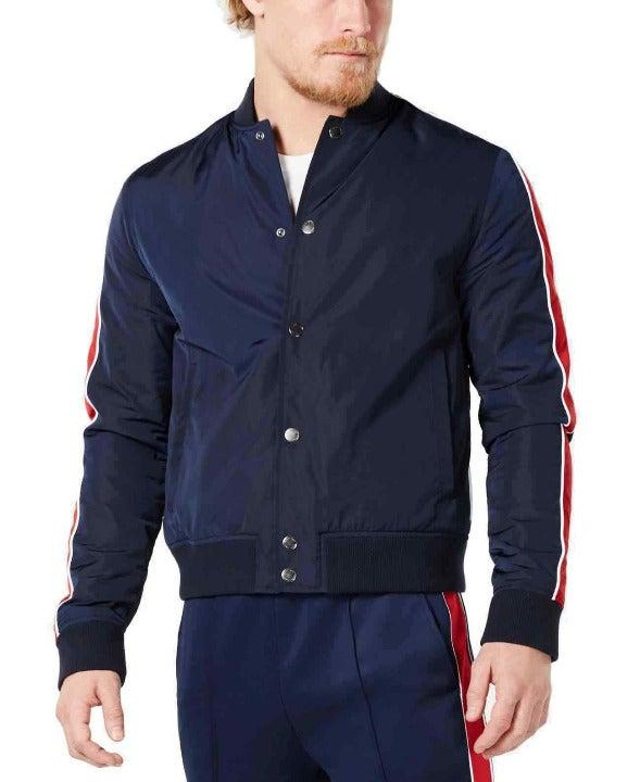 Michael Kors Men's Baseball Jacket (Dark