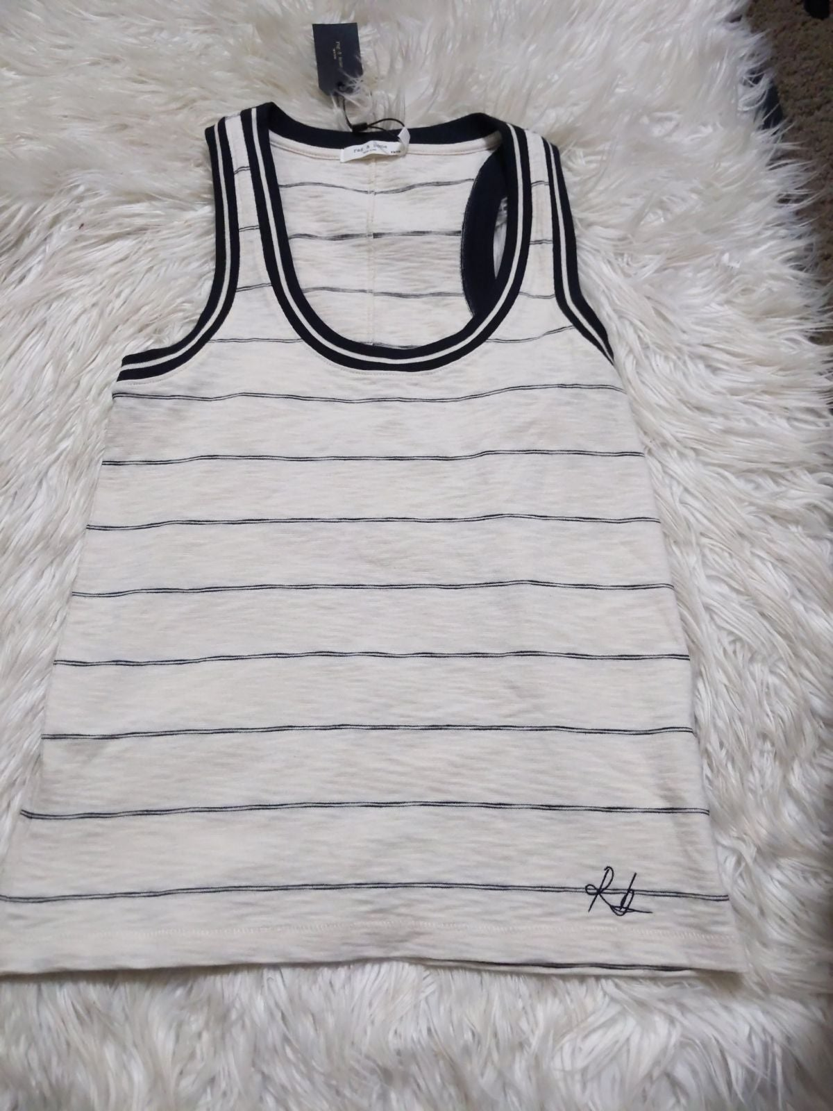 Rag & Bone Striped Tank