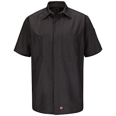 Red Kap Mens Standard Ripstop Crew Shirt