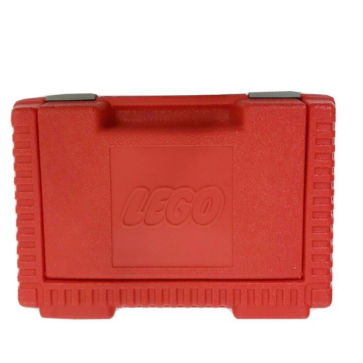 Vintage LEGO 1984 Red Plastic Case