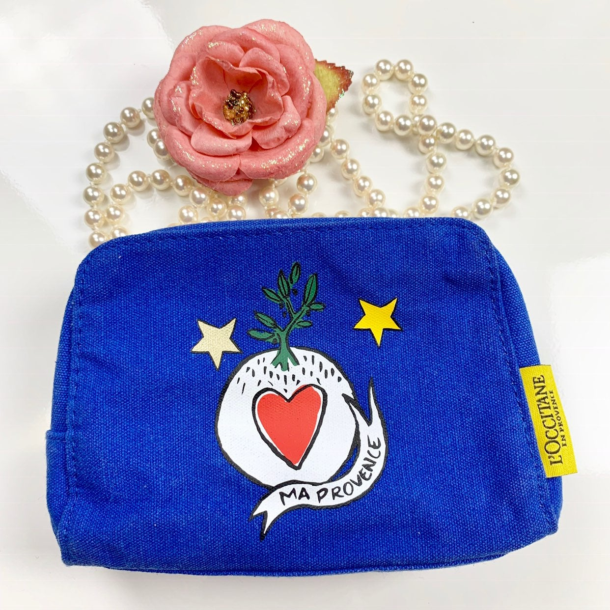 L'Occitane Canvas Cosmetic bag