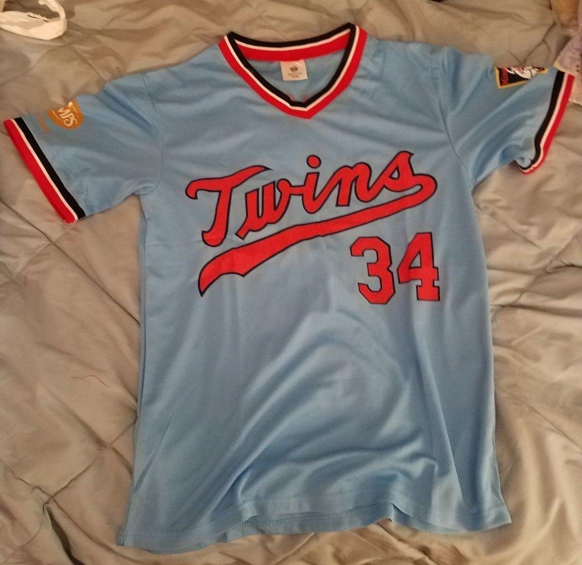 Twins 34 Puckett Jersey