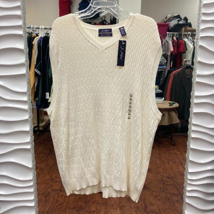 Mens J Ashford Pima Cotton Sweater XL