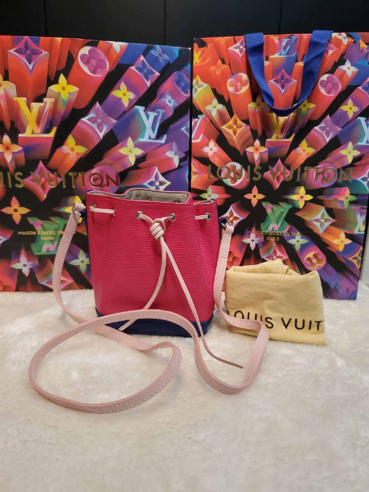 Louis Vuitton Noe Nano Pink Epi