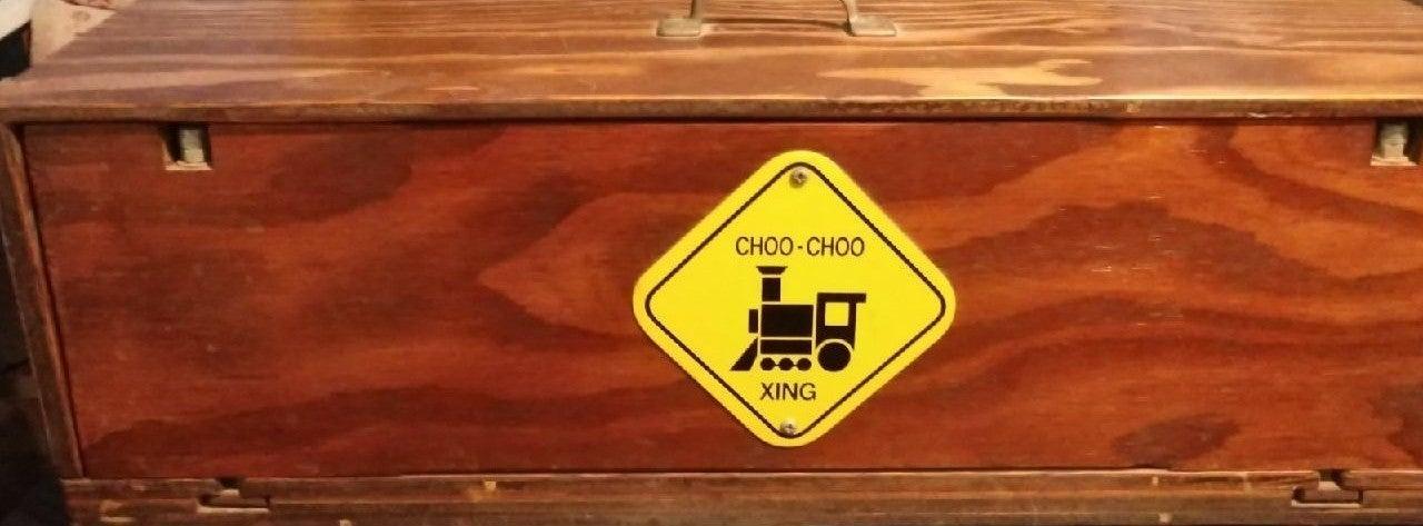 Choo choo carrying case