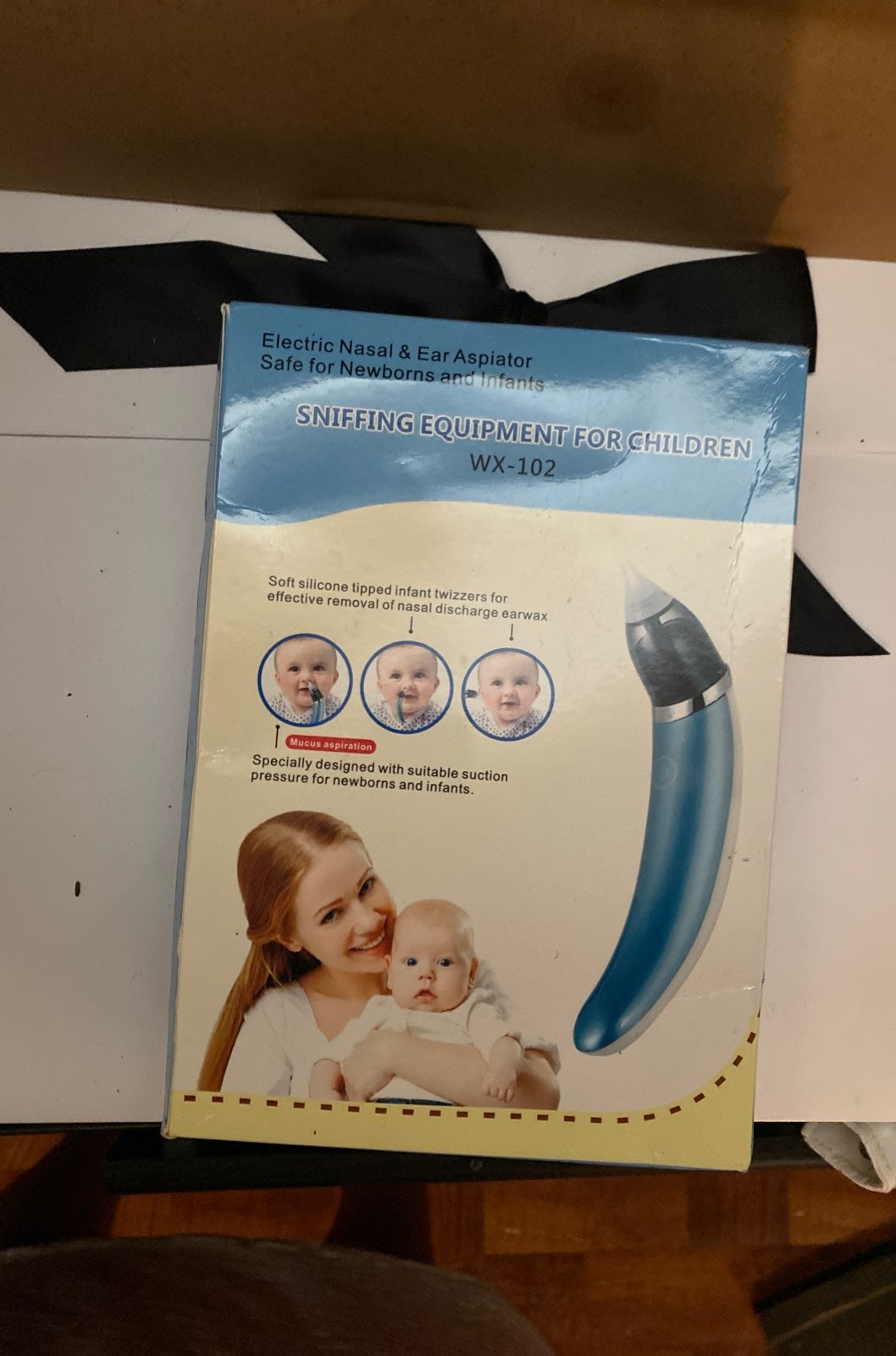 Electric nasal and ear respirator