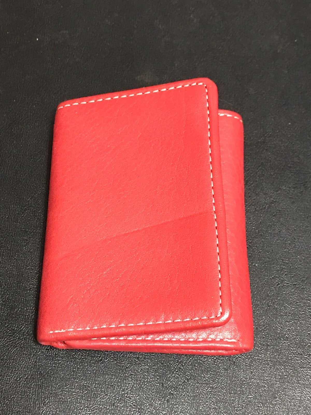 Men's Roundtree & Yorke Red Wallet