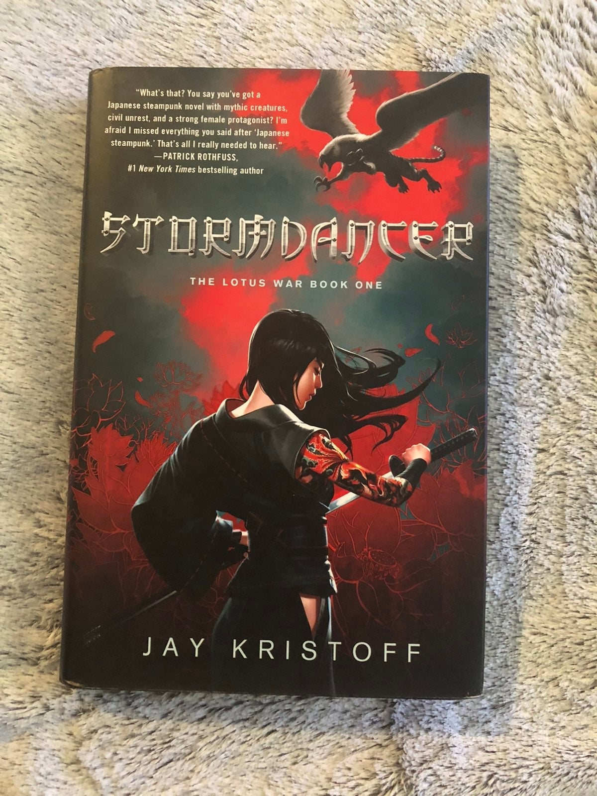 Out of Print HC Stormdancer Signed Krist