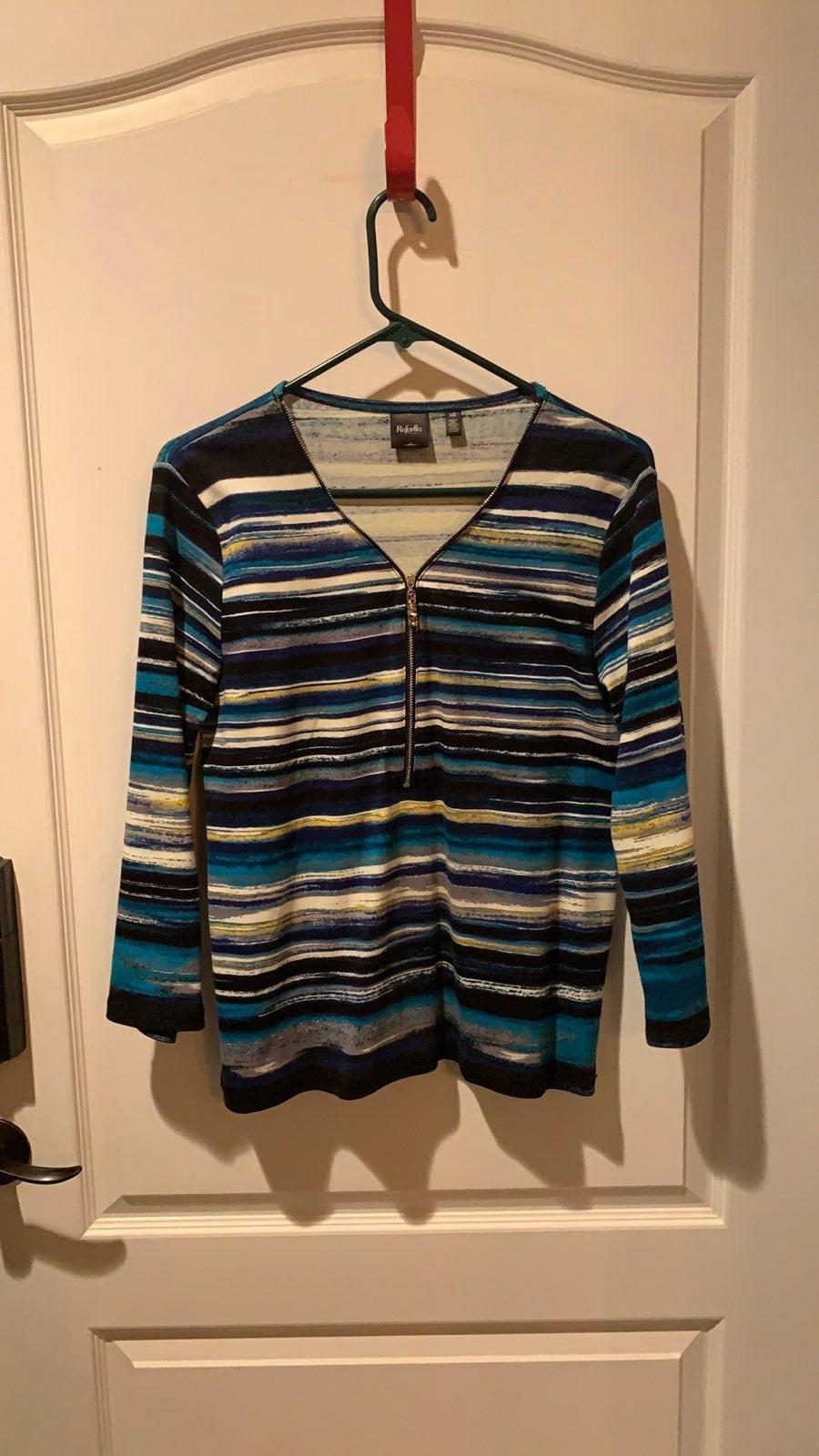 Rafaella cotton stripped shirt