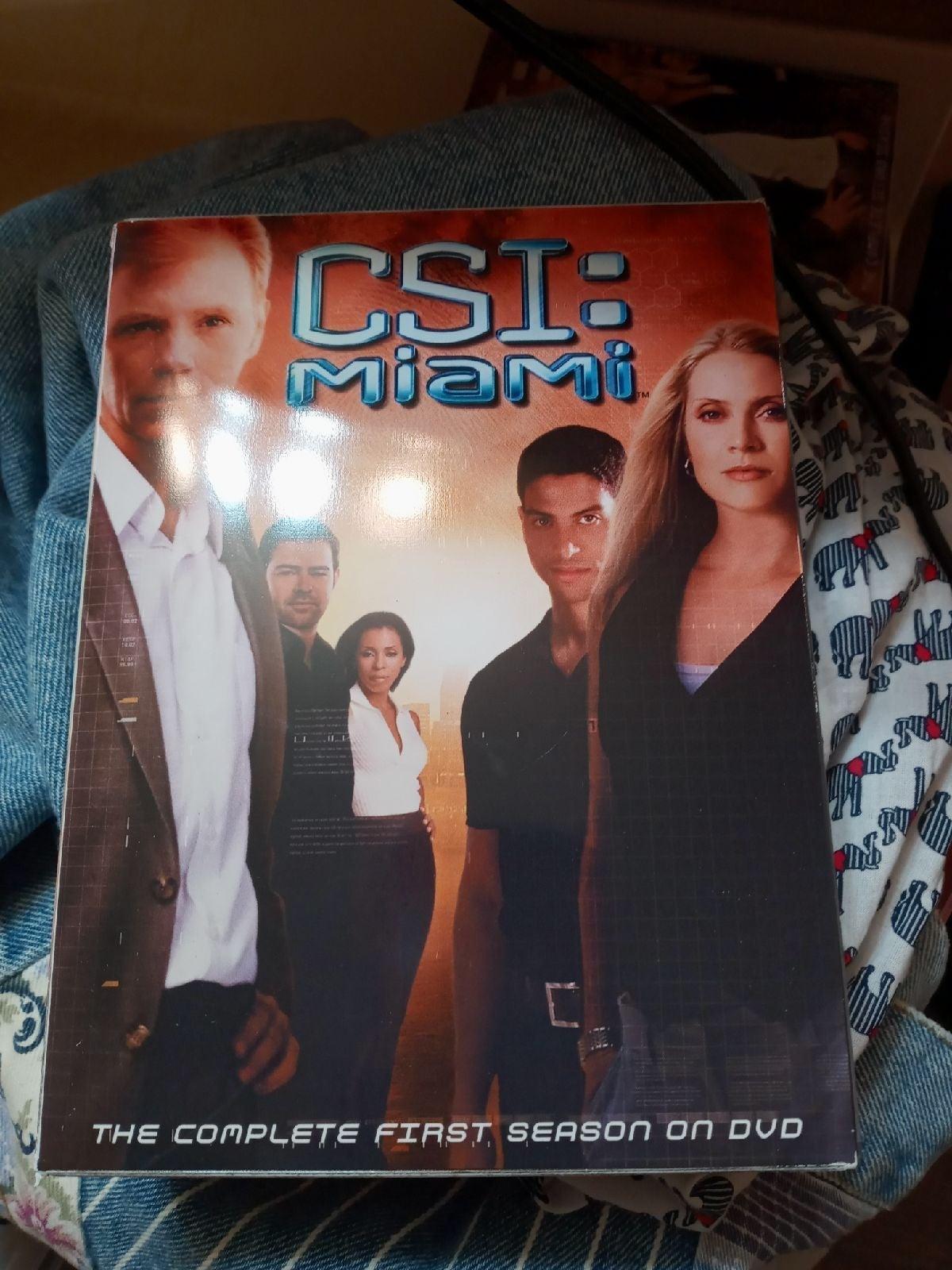CSI Miami Seasons 1, 2, and 3: Complete