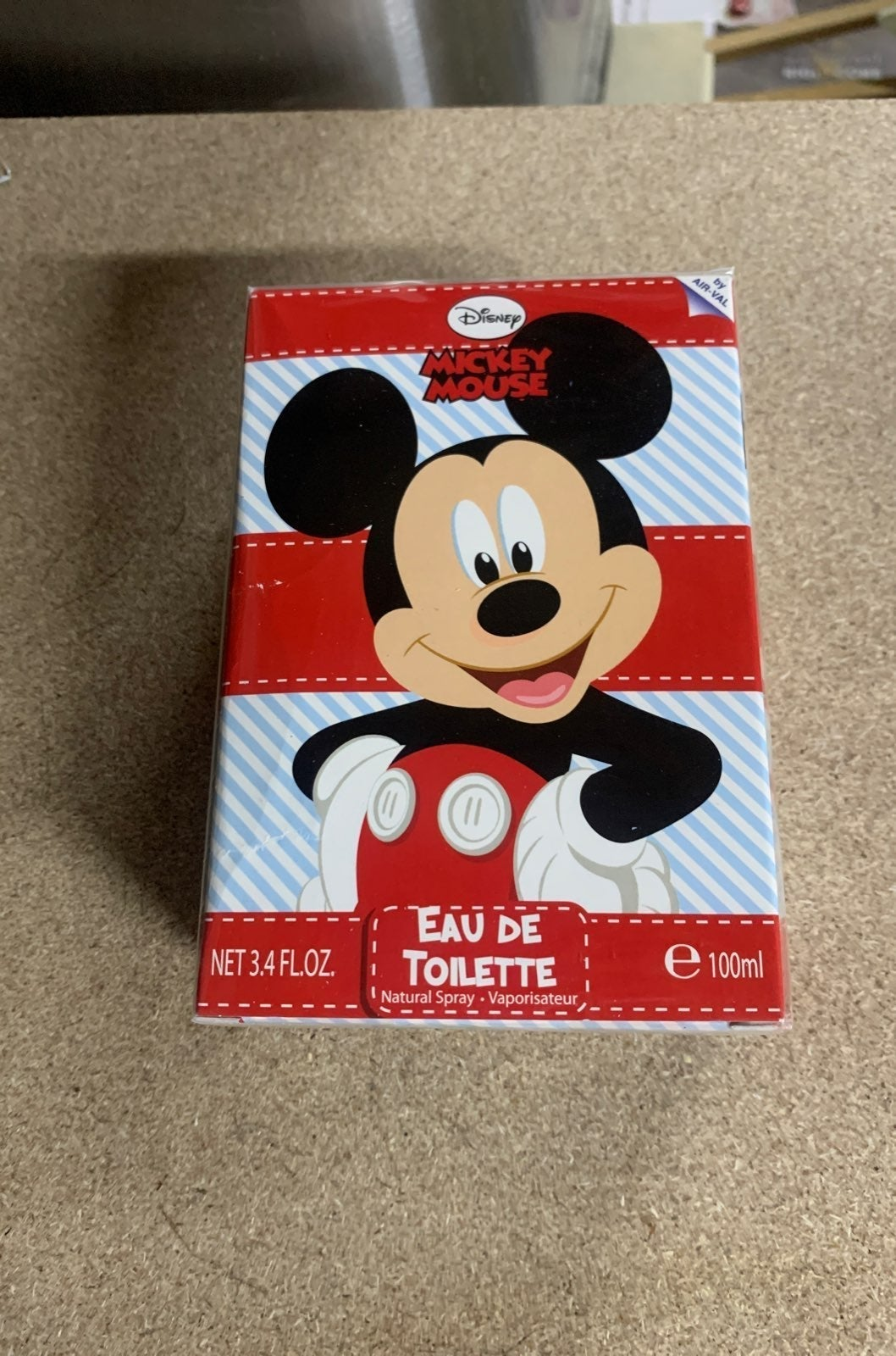100ml unoped New Mickey Mouse cologne