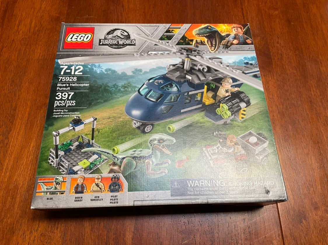 LEGO Jurassic World Blue's Helicopter