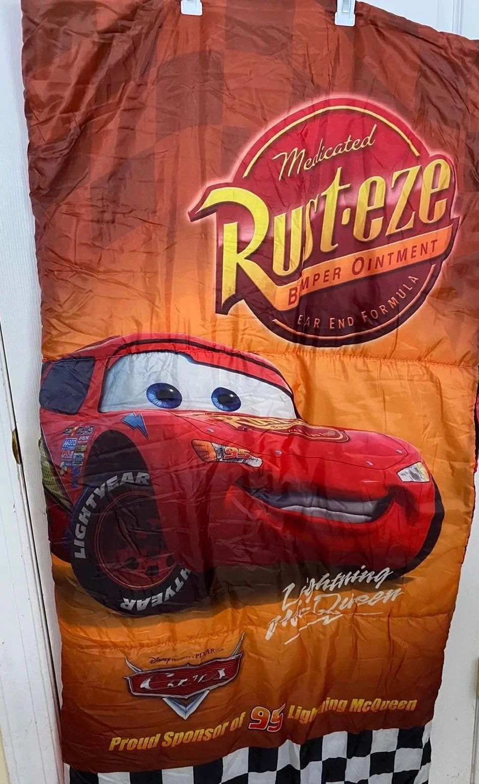 Lightning McQueen sleeping bag