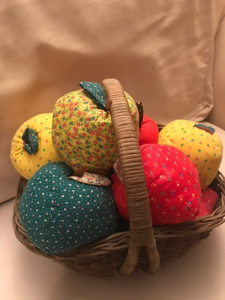 Bundle of Fabric Apples