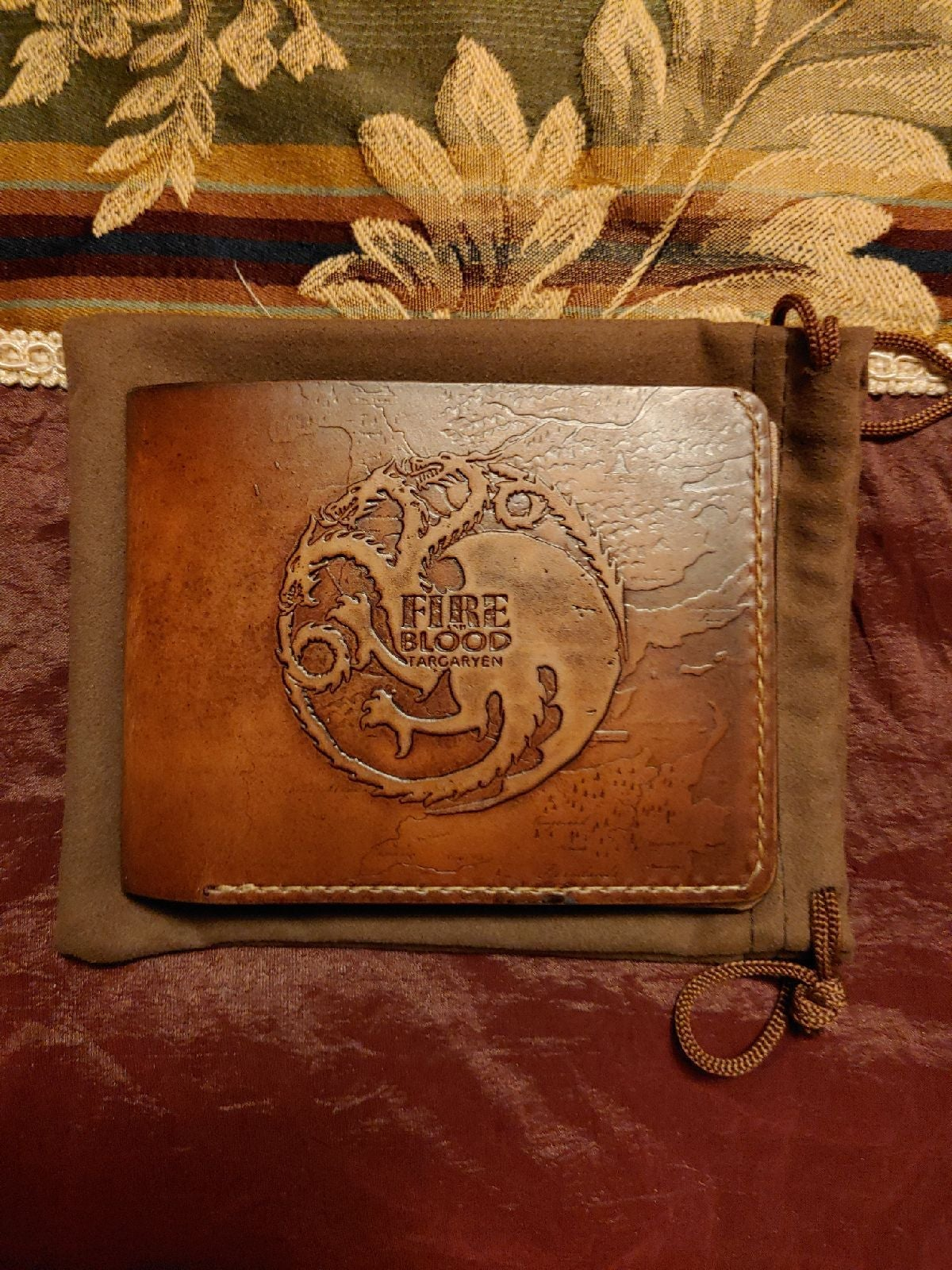 Wallet Game of thrones genuine leather