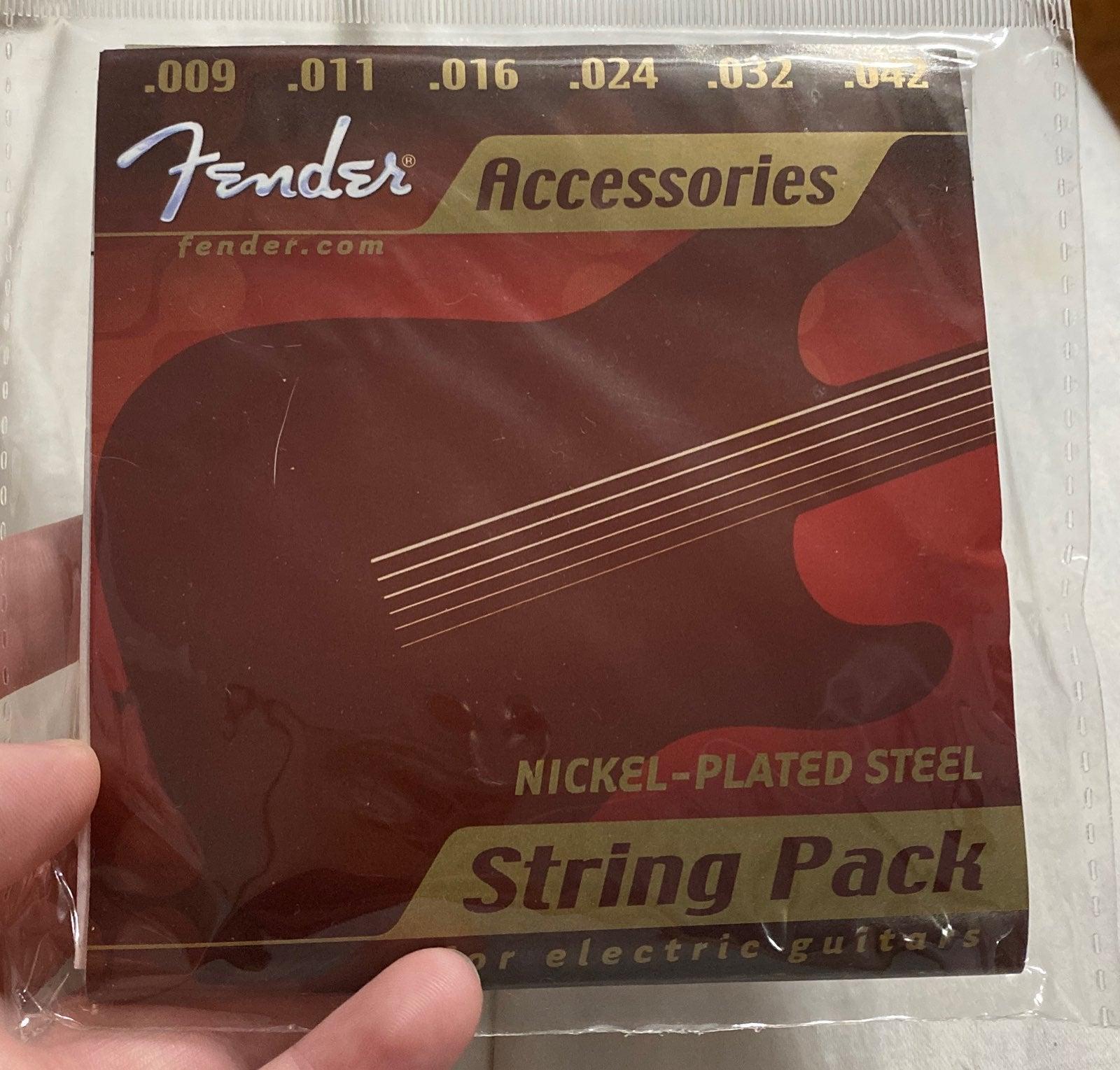Fender electric guitar strings