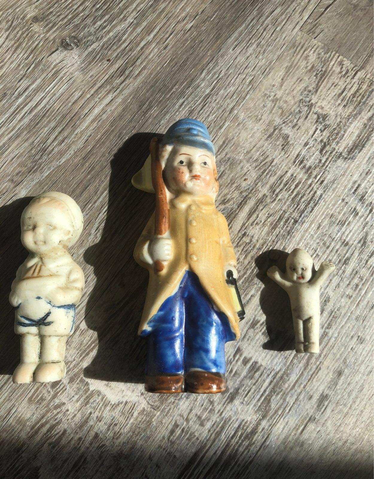 Vintage porclain dolls