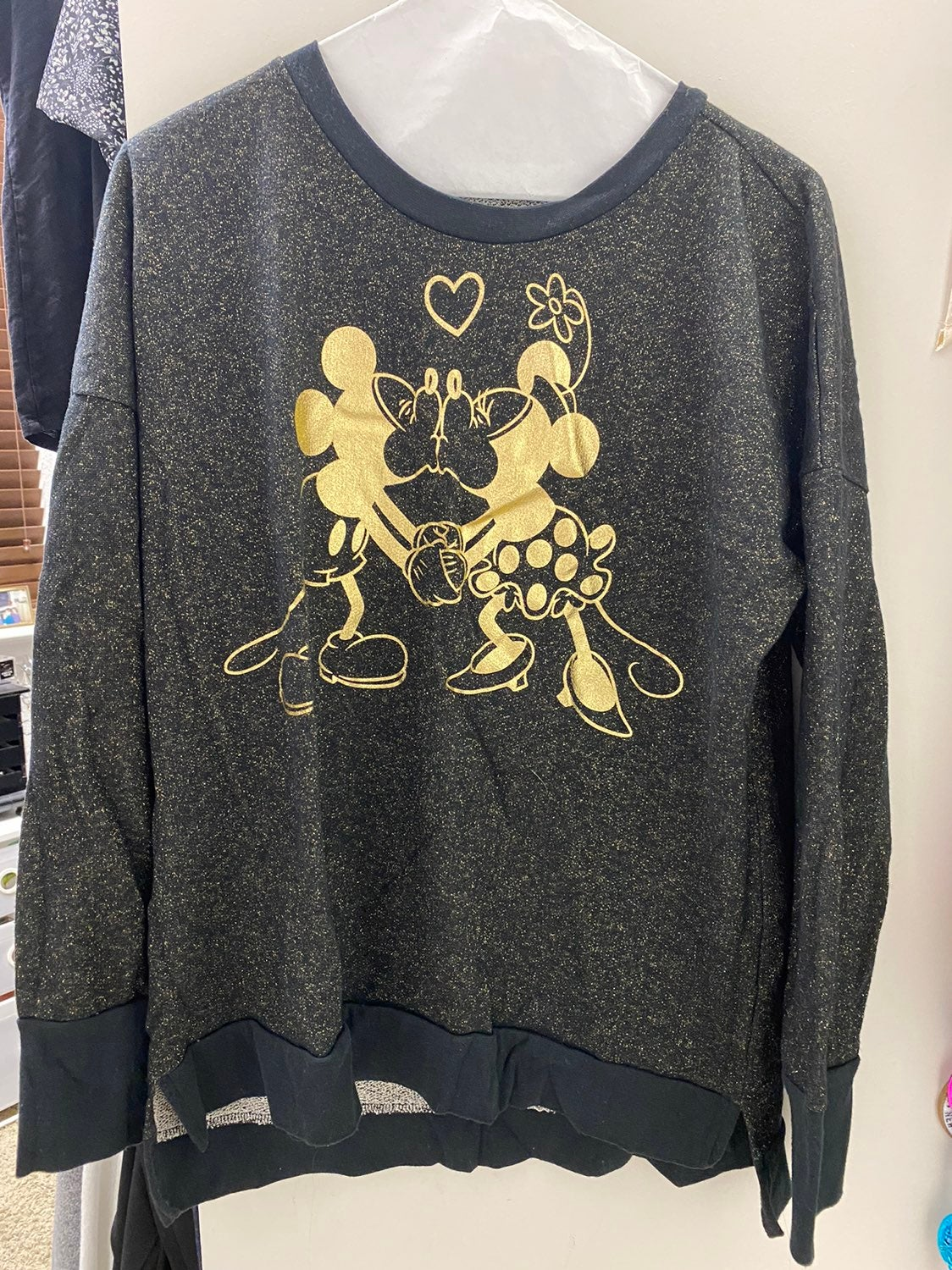 Disney Parks Mickey & Minnie sweatshirt