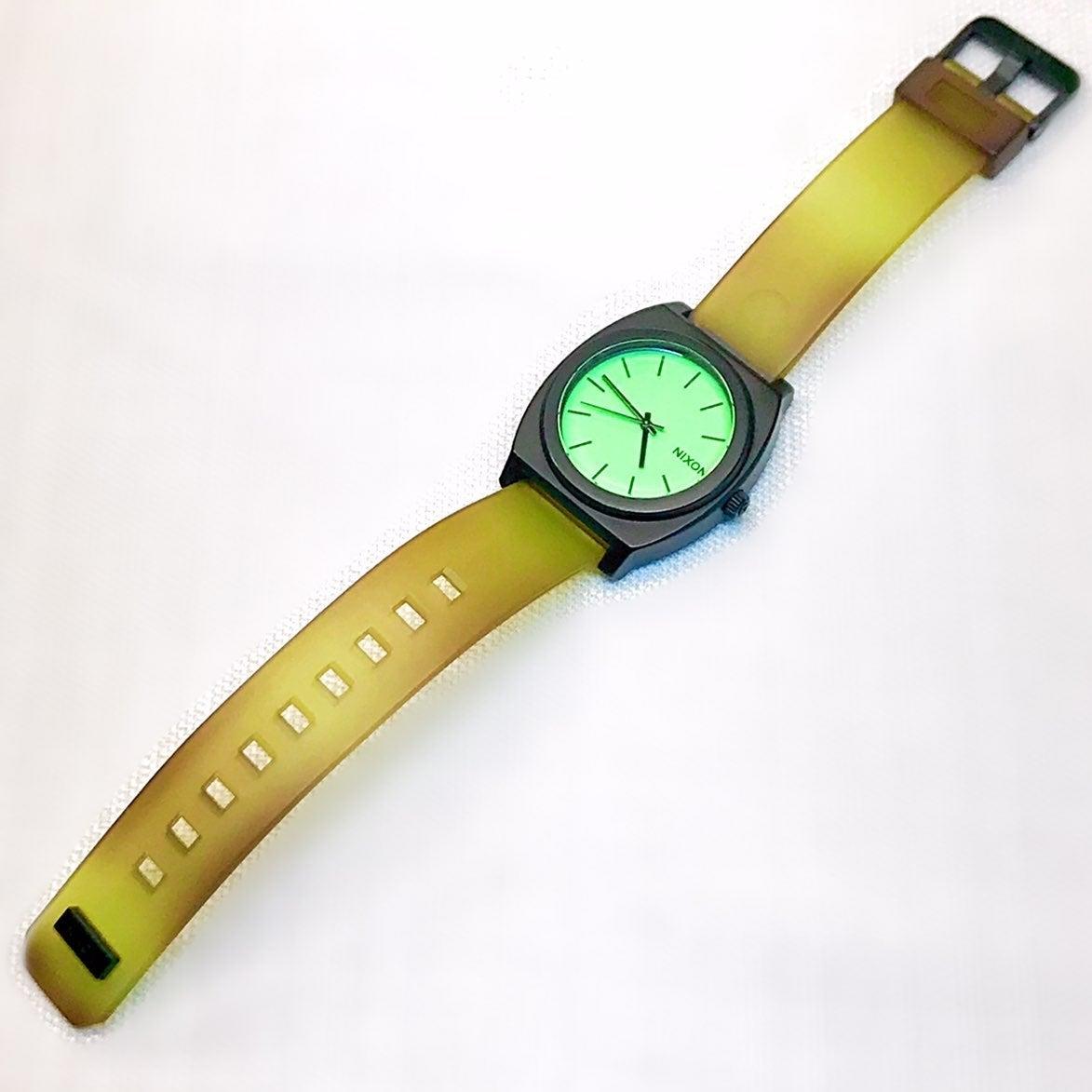 Nixon Time Teller glow-in-the-dark Watch