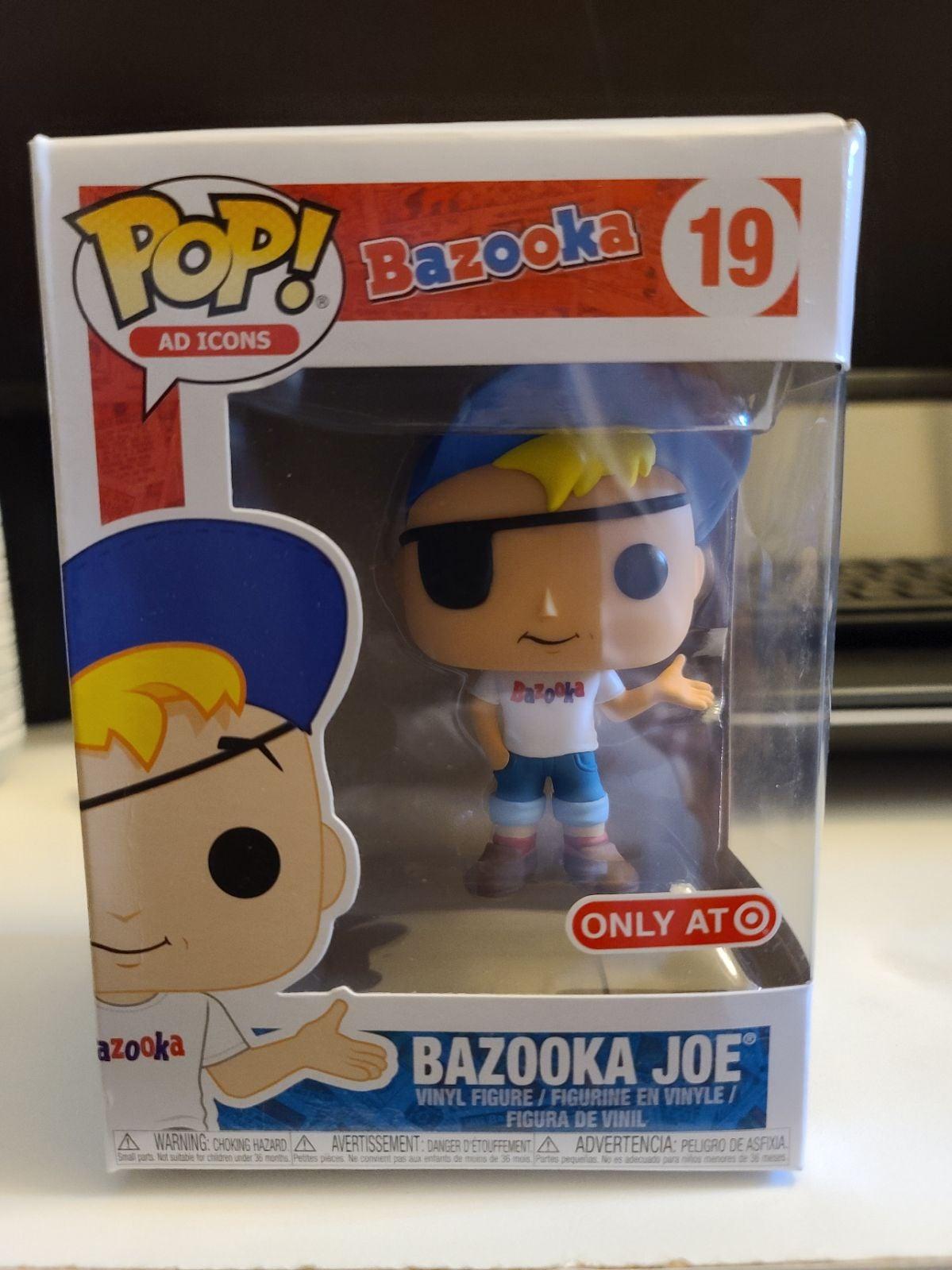 Ad Icons Funko Pop! Bazooka Joe #19