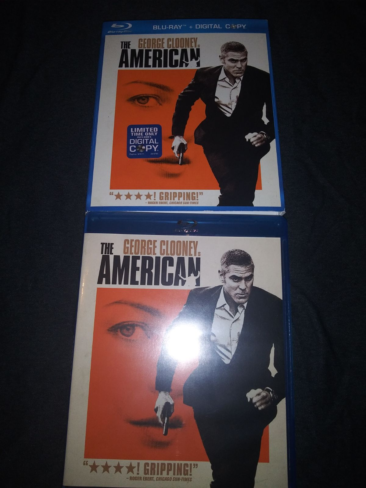 The American blu ray george clooney