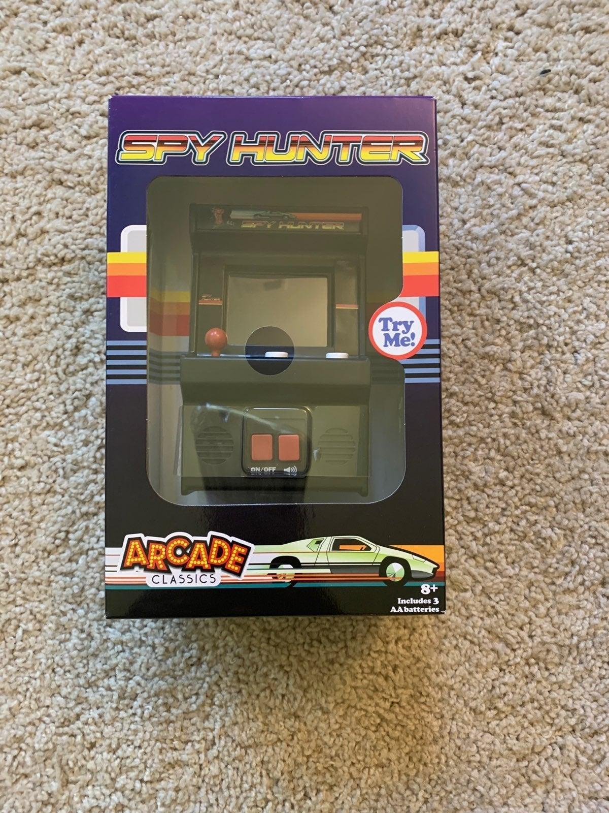 Arcade Classic Spy Hunter NEW