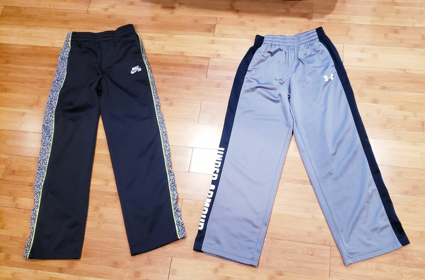 Nike , under armour pants