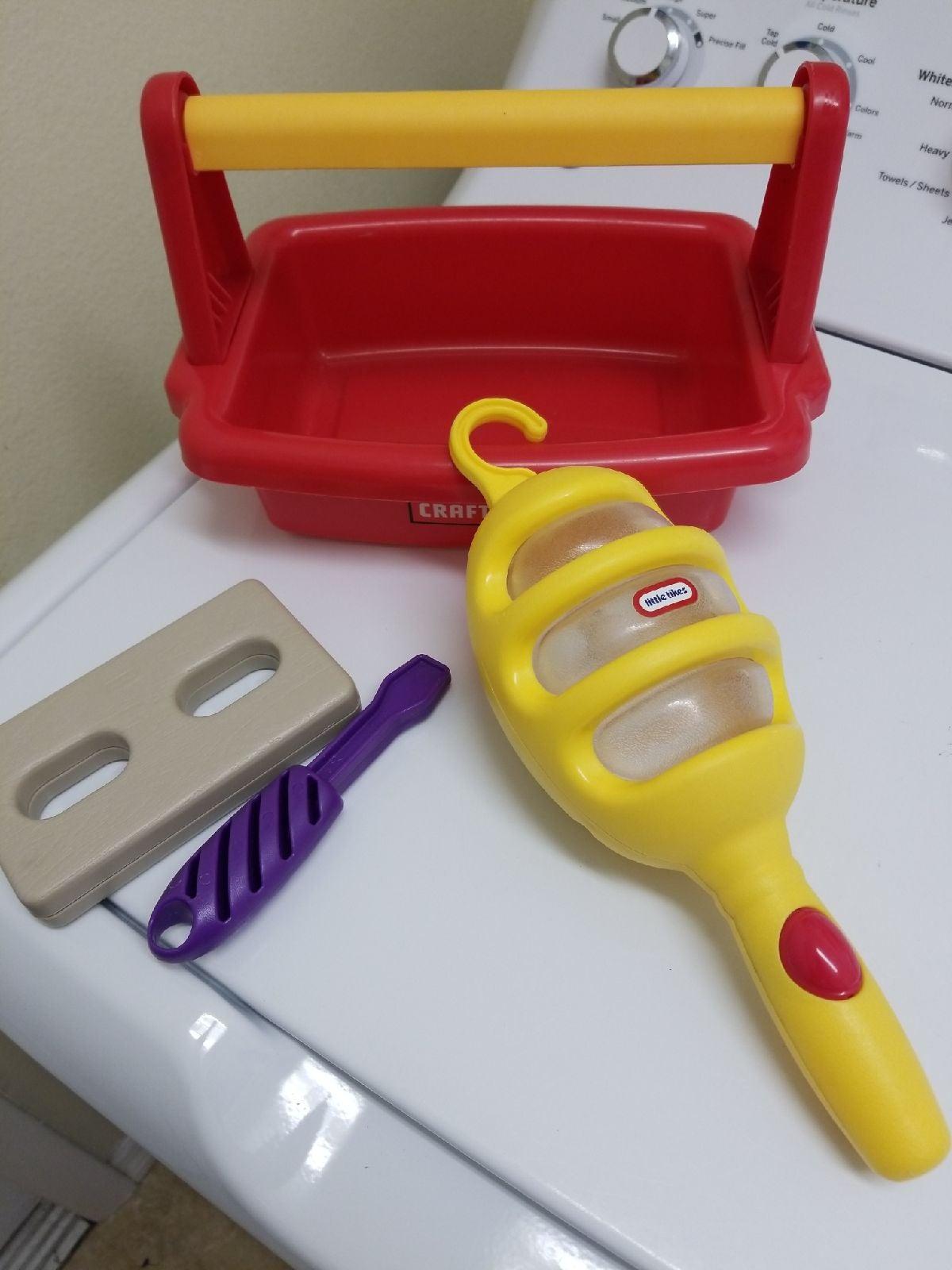 Little Tikes Craftsman Workbench Tools